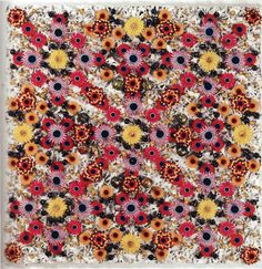 James Brennand-Wood is a floral textile artist