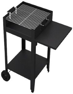 Tepro Barbecue Grill Chill andassembly without screws, Habanero, Black
