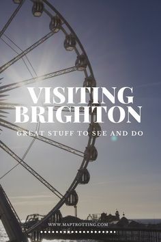So you're planning a trip to the UK and wondering where to go. Great! We couldn't recommend visiting Brighton highly enough, it's not known as 'London-by-the-sea' for nothing. Visiting Brighton | UK Travel | Visiting England | Exploring England | Visiting Brighton | Things to See and Do in Brighton