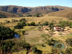 Fazenda na Serra da Canastra