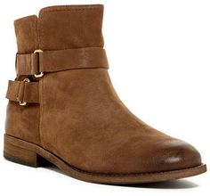 Franco Sarto Kacey Leather Ankle Boot