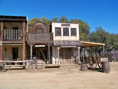 They may mostly be tourist traps, but I would love to find an old ghost town or western style place still in existence