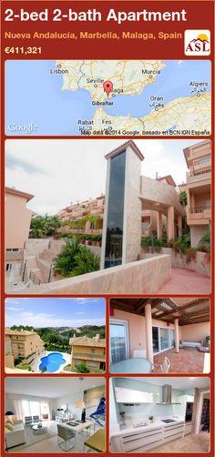 2-bed 2-bath Apartment in Nueva Andalucía, Marbella, Malaga, Spain ►€411,321 #PropertyForSaleInSpain