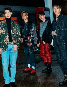 "EXO — ""LOVE SHOT"" teaser images #3 // Sehun, Chen, Baekhyun & Kai"