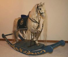 Most beautiful rocking horse I've ever seen!