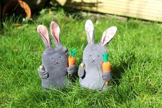 Sewing+Project+|+14+Easter+Bunny+Decorating+Ideas