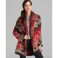 Free People rare Winters Day cardigan Super cozy fluffy rare cardigan fits virtually any size to snuggle up to. Very warm. Good used condition. Will trade to other FP stuff. Free People Sweaters Cardigans