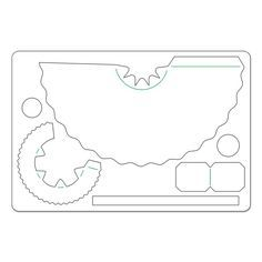 Free 3D Tea Cup Template from Trimcraft http://www