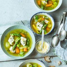 Rezept: Spargel-Fischtopf mit Aioli