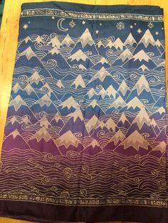 Oscha misty mountains kommande sjal!