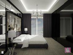 Black & White - Sypialnia - Styl Tradycyjny - Homeemotions.architects