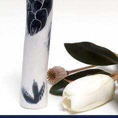 #ttmade #apotterandapainter #ceramics #Australianceramics #vessels #Porcelain #Blueandwhite #Indigo #Handmade