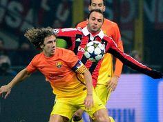 Barcelona gegen Milan vor dem Aus: 2:0! Der Prinz kratzt an Barcas Thron - FUSSBALL CHAMPIONS LEAGUE - Sport-Bild