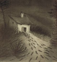 Alfred Kubin - an Austrian printmaker and illustrator, is considered an important representative of symbolism and expressionism. Dark Fantasy Art, Dark Art, Alfred Kubin, Illustrator, Arte Horror, Creepy Art, Aesthetic Art, Traditional Art, Rats
