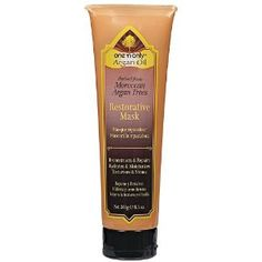 One 'n Only Argan Oil Restorative Mask-Very moisturizing, could pass on the smell.