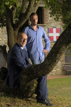 Il duca di Savoia Amedeo col figlio Aimone