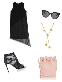 """""""Summer Vibes"""" by isabel-wallace on Polyvore featuring Mansur Gavriel, Valentino, DAMIR DOMA, Christian Dior and Lord & Taylor"""