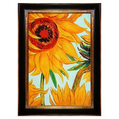 Sunflowers Canvas Painting by Vincent Van Gogh >> Beautiful!