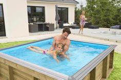 die besten 25 holzpool ideen auf pinterest gartenpool whirlpool abdeckung und schwimmrock. Black Bedroom Furniture Sets. Home Design Ideas
