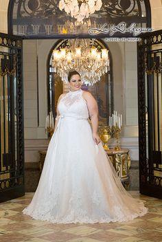 Vestido de Noiva Plus Size 08