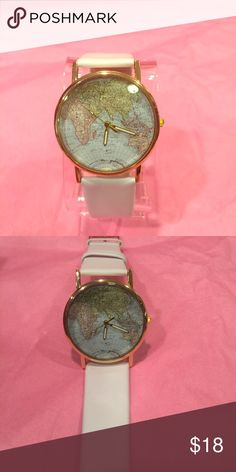 GENEVA UNISEX WATCH... White, unisex.... Geneva Platinum Accessories Watches