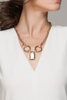 Lock necklace - potential DIY...?