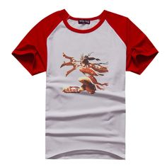 Blood Moon Akali Manches Courtes T-shirts raglan couleur (6 couleurs) Blood Moon Akali Manches Courtes T-shirts raglan couleur [LOL 00044]