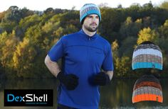 Waterproof Hats Beanie Style in Gradient Colours