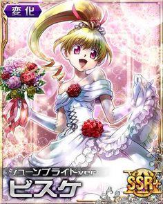 | hunterxhunter | hunter x hunter | anime | manga | hunterxhunter battle collection | hunterxhunter cards | Biscuit Krueger | Bride | Wedding dress