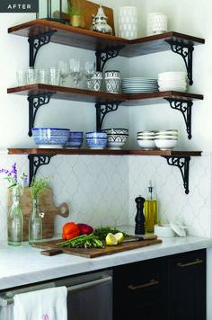 A Modern Moroccan Kitchen – diy kitchen decor ideas Home Decor Kitchen, Kitchen Interior, Home Kitchens, Diy Home Decor, Kitchen Ideas, Apartment Kitchen, Kitchen Designs, Tiny House Ideas Kitchen, Apartment Hacks