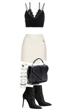 """""""Untitled #20725"""" by florencia95 ❤ liked on Polyvore featuring TIBI, Anine Bing, T By Alexander Wang, Yves Saint Laurent and Baldwin"""