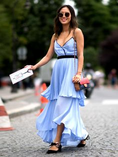 Shop The Summer's Coolest Hue Pastel Shades, Hue, High Low, Summer, Shopping, Dresses, Fashion, Lifestyle, Ruffles