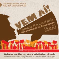 Barão de Itararé - Semana pela Democratização da Comunicação: saiba o que rola em SP