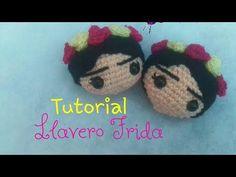 Llavero de Frida Khalo amigurumi - YouTube