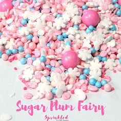 Hey, I found this really awesome Etsy listing at https://www.etsy.com/listing/556261298/sugar-plum-fairy-sprinkle-mix