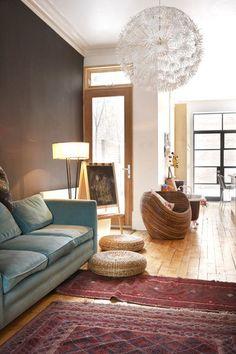 cool bohemian chic room