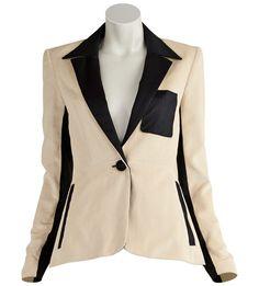 ATTO-Cotton Corduroy Tuxedo Jacket info ashlee@justoneeye.com