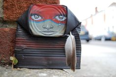 Art by the UK based street artist My Dog Sighs
