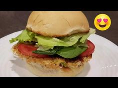 This week I'm making Thai style Fish and Crab Burger. It's so easy to make and so delicious. Crab Burger, Burger Buns, Crab Meat, Fussy Eaters Toddlers, Potato Salad Dressing, Big Burgers, Red Curry Paste, Sliced Tomato, Thai Recipes