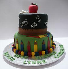 Great Teacher Retirement Cake