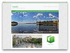 Travelify corporate travel theme