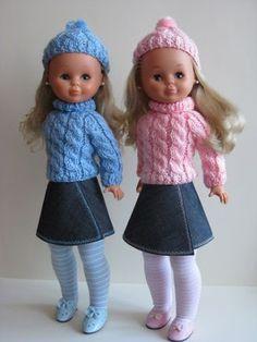 Vestidos Nancy, Nancy Doll, American Girl, Doll Clothes, Harajuku, Kimono, Crochet Hats, Hipster, Knitting