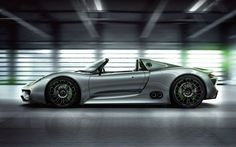 A 770 horsepower hybrid? What once was fantasy, is now reality with the Porsche 918, the $845,000 hybrid supercar capable of accelerating from 0 to 62 mph in under 3 seconds and with a top speed of 210 mph.