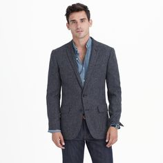 J. Crew Ludlow blazer in English tweed
