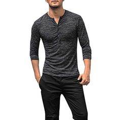 Comaba Men Relaxed-Fit Contrast Button Down Slim Fit Dress Shirts