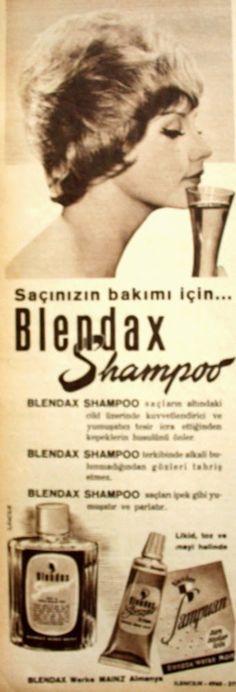 OĞUZ TOPOĞLU : blendax şampuan 1962 nostaljik eski reklamlar