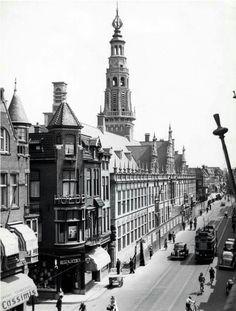Leiden, stadhuis jaren '30