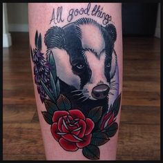 traditional badger tattoo best eye catching tattoos