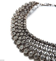 Kate's sparkly £20 necklace from Zara