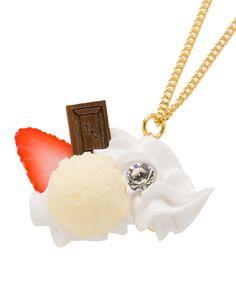 Strawberry Parfait Necklace